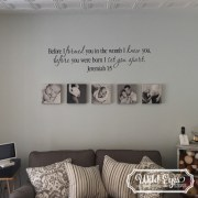 Jeremiah 1v5 Vinyl Wall Decal version 6