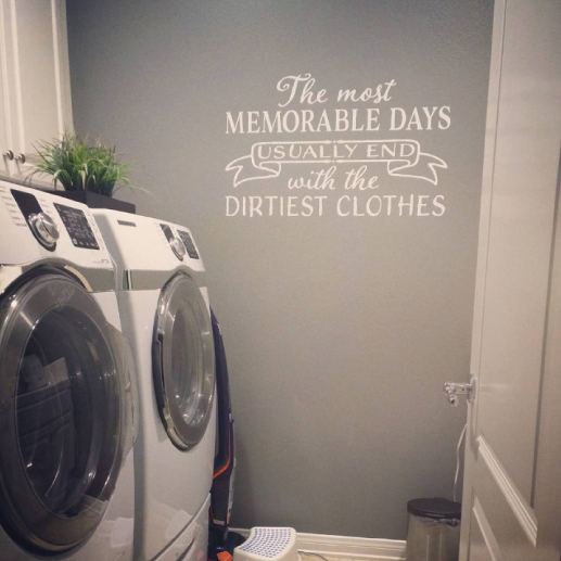 The most Memorable Days Wall Decal
