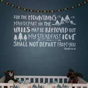 Isaiah 54:10 Vinyl Wall Decal