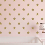 Star Polka Dot Vinyl Wall Decal
