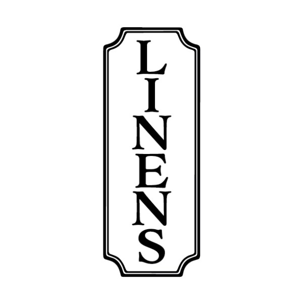 Linens Sign Vinyl Wall Decal
