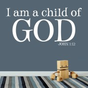 John 1v12 Vinyl Wall Decal 1