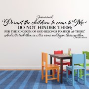 Mark 10v14 Vinyl Wall Decal