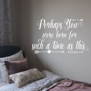 Esther 4v14 Vinyl Wall Decal 1