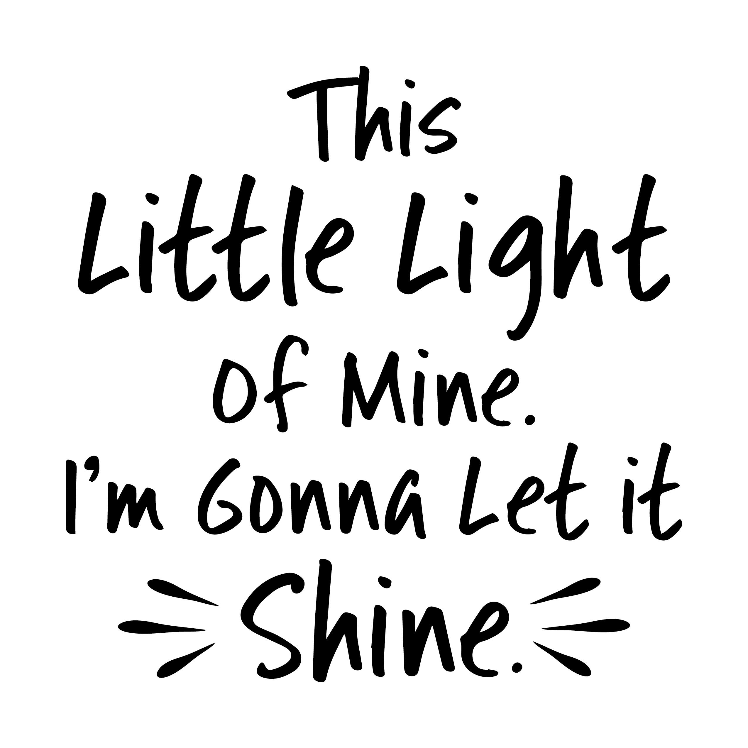 This Little Light Of Mine I M Gonna Let It Shine Vinyl