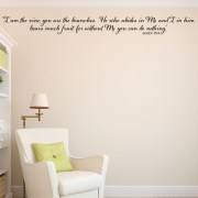 John 15v5 Vinyl Wall Decal 5