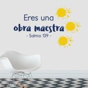 Psalm 139 Salmo 139 Spanish Vinyl Wall Decal