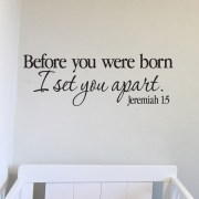 Jeremiah 1v5 Vinyl Wall Decal 25
