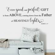 James 1v17 Vinyl Wall Decal 23