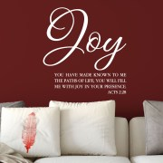 Acts 2v28 Vinyl Wall Decal