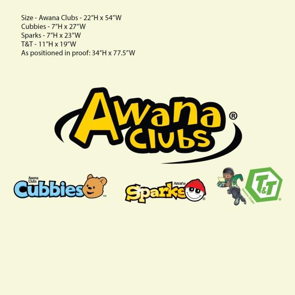 CUSTOM for Phyllis 08-30-2021 Awana Clubs