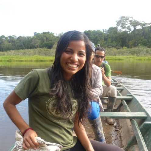 Tania Romero Bautista in the Amazon