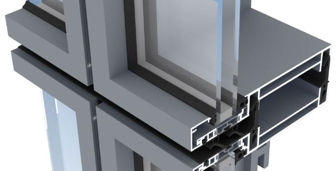 new unitised curtain walling launched