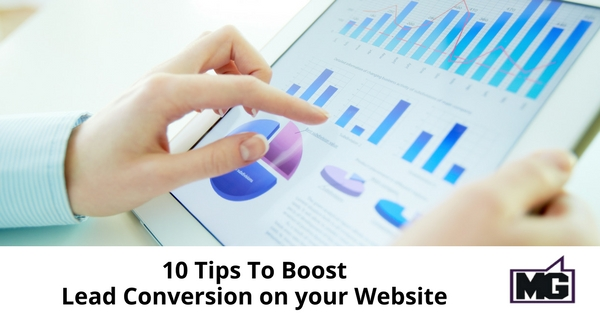 10 Tips To Boost Lead Conversion on your Website