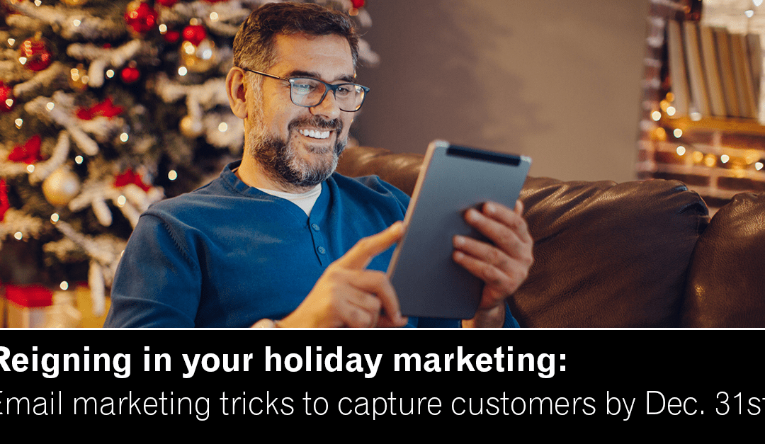 4 charts that explain email marketing during the holidays