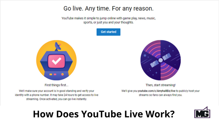 How Does YouTube Live Work?