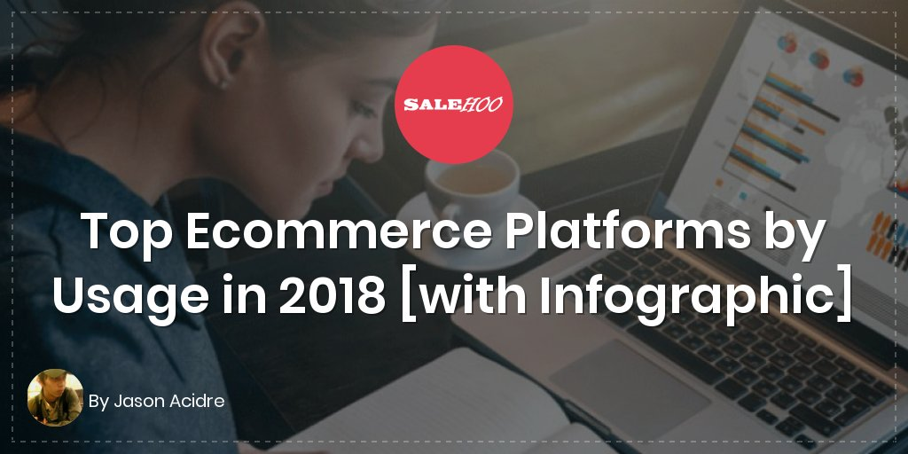 Top Ecommerce Platforms by Usage in 2018 [with Infographic]