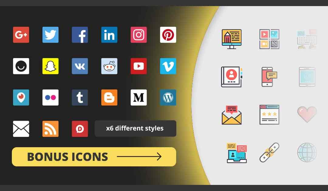 Social Media Icons: Free and Always Updated