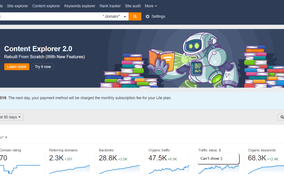 Ahrefs Review: Keywords, Backlinks, And Ranking Made Easy?