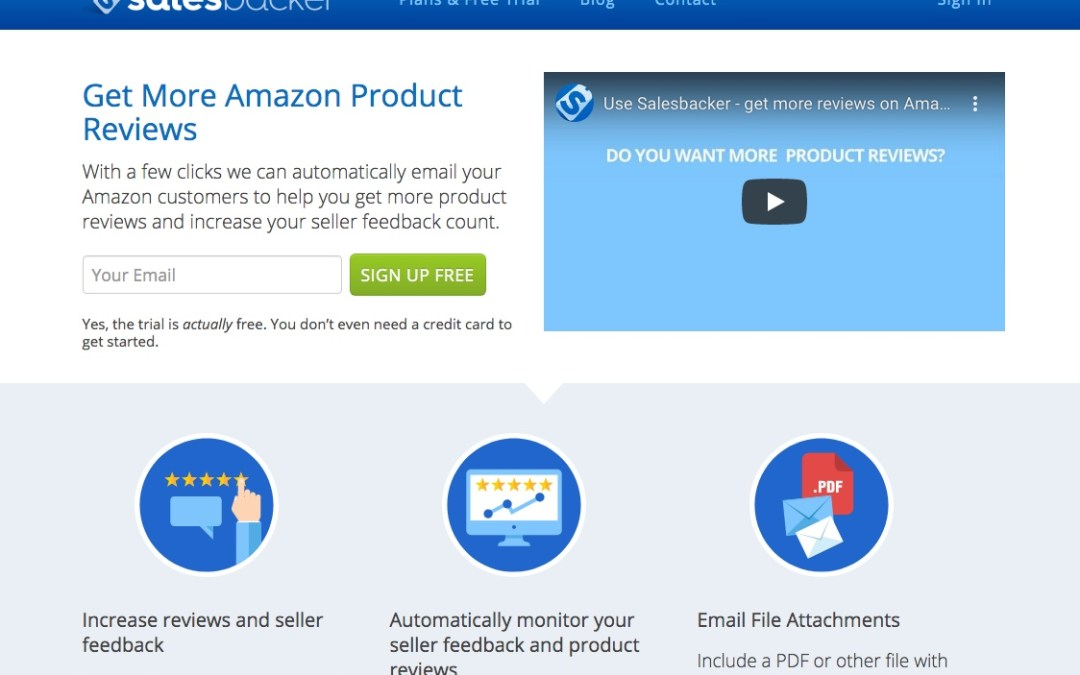 Salesbacker Review: Automate Your Amazon FBA Feedback