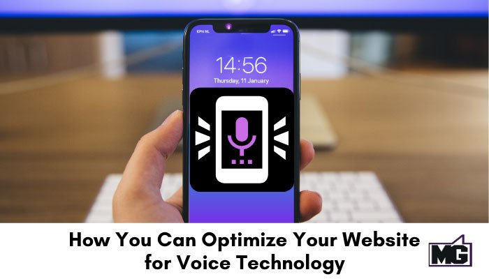 How You Can Optimize Your Website for Voice Technology