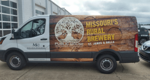 Wildfire Creative / Public House Brewery Vehicle Wrap Design