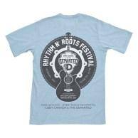 Wildfire Creative - Rhythm N' Roots music festival t-shirt design