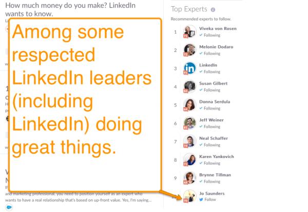 LinkedIn Expert #10 Klout