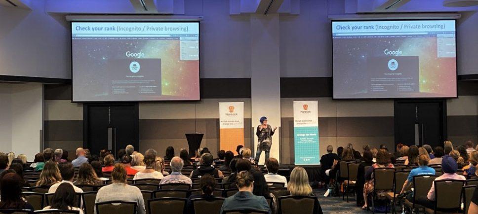 Jo Saunders - LinkedIn expert at #ChangeTheWorldEvent
