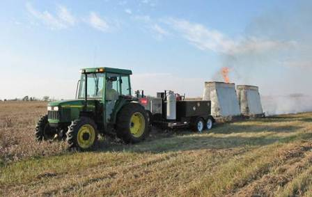 USF&WS Approves Use of Blacklining Machine