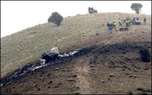 Air tanker crash