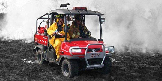 ATV fire vehicle