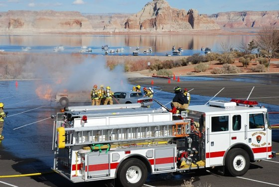Glen Canyon fire training