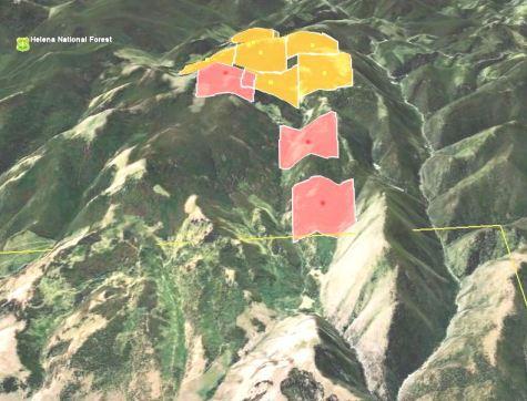 Davis fire map 3-D 8-27-2010