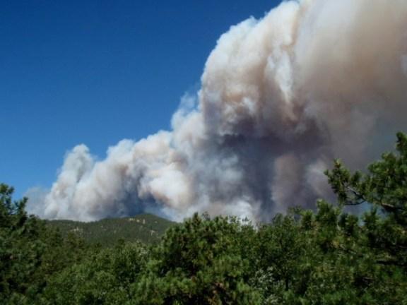 Emerson fire near Boulder