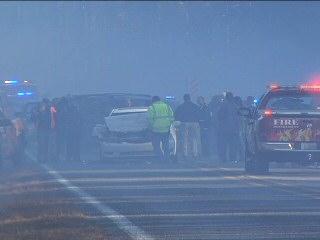 Mississippi Rx burn smoke crash
