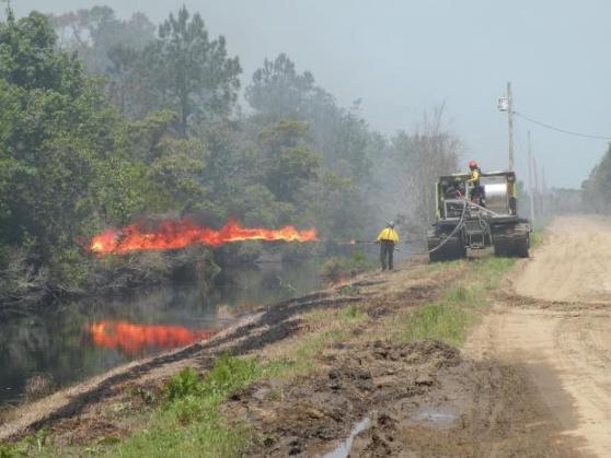 Terra torch, Pains Bay fire, Deb Pierce, USFWS