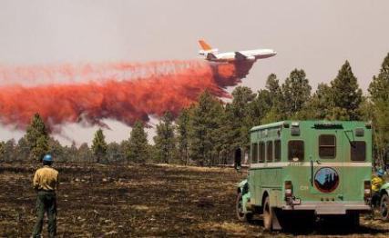 DC-10 air tanker to tour airports in Montana, South Dakota