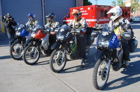 LAFD Motorcycle Response Team