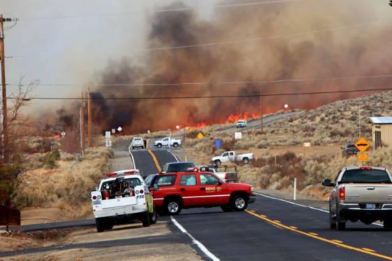 Washoe fire
