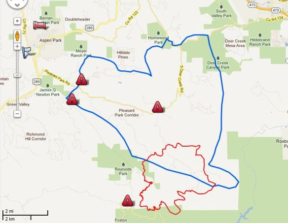 Update On Lower North Fork Fire In Colorado March 29