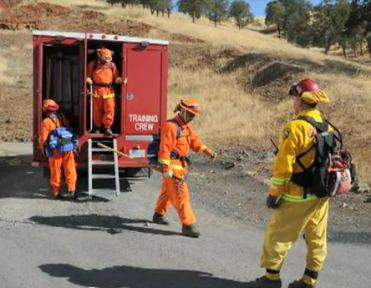 Female inmate firefighters featured in movie