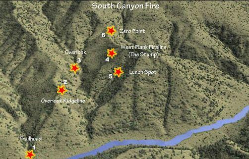 South Canyon staff ride app