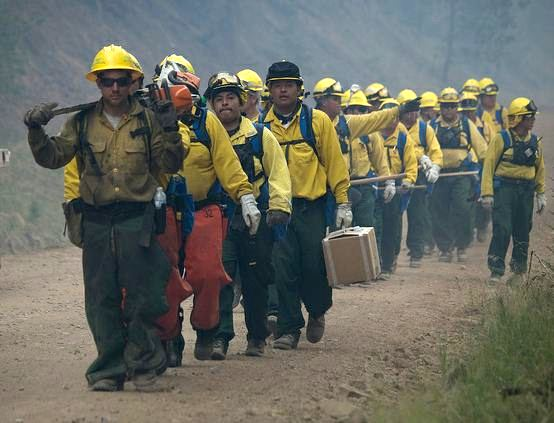 Crew, Little Bear Fire, June 12, 2012