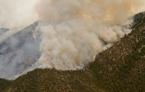 Little Bear Fire, June 1, 2012