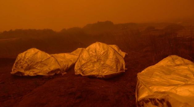 Pagami fire shelters