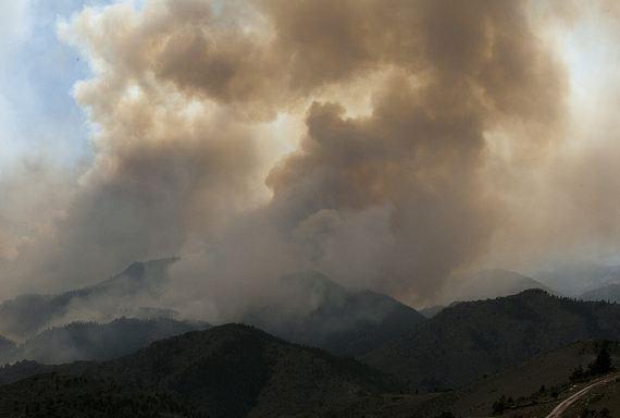 High Park fire, June 19, 2012