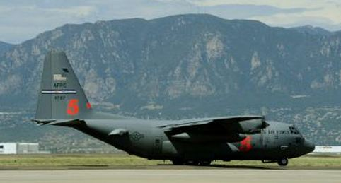 MAFFS C-130 air tanker