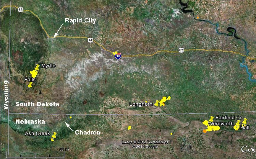 Fires in northern Nebraska and southern South Dakota burn ...