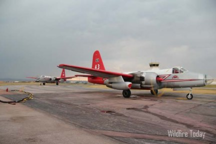 Report: air tanker makes emergency landing after engine fails